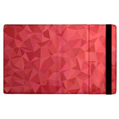 Triangle Background Abstract Apple iPad 3/4 Flip Case