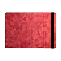 Triangle Background Abstract Apple iPad Mini Flip Case