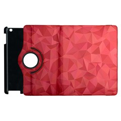 Triangle Background Abstract Apple iPad 3/4 Flip 360 Case