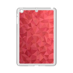 Triangle Background Abstract iPad Mini 2 Enamel Coated Cases