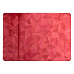 Triangle Background Abstract Samsung Galaxy Tab 10.1  P7500 Flip Case