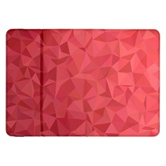Triangle Background Abstract Samsung Galaxy Tab 8.9  P7300 Flip Case