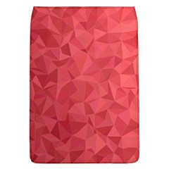 Triangle Background Abstract Removable Flap Cover (L)