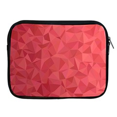 Triangle Background Abstract Apple iPad 2/3/4 Zipper Cases