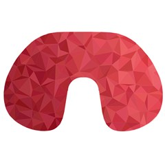 Triangle Background Abstract Travel Neck Pillows