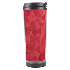 Triangle Background Abstract Travel Tumbler