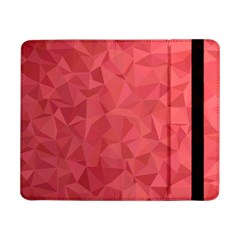 Triangle Background Abstract Samsung Galaxy Tab Pro 8.4  Flip Case