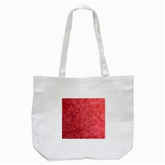 Triangle Background Abstract Tote Bag (White)