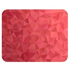 Triangle Background Abstract Double Sided Flano Blanket (Medium)