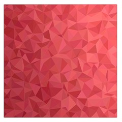 Triangle Background Abstract Large Satin Scarf (Square)