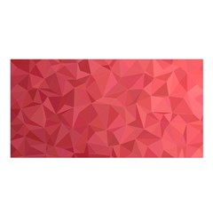 Triangle Background Abstract Satin Shawl