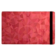 Triangle Background Abstract Apple iPad Pro 9.7   Flip Case
