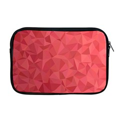 Triangle Background Abstract Apple MacBook Pro 17  Zipper Case