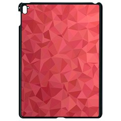 Triangle Background Abstract Apple iPad Pro 9.7   Black Seamless Case