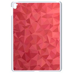 Triangle Background Abstract Apple iPad Pro 9.7   White Seamless Case