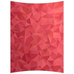 Triangle Background Abstract Back Support Cushion