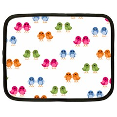 Pattern Birds Cute Netbook Case (xxl)