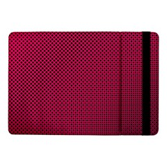 Red Black Pattern Background Samsung Galaxy Tab Pro 10 1  Flip Case by Mariart