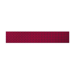 Red Black Pattern Background Flano Scarf (mini)