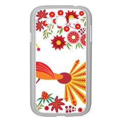 Peacock Pattern Samsung Galaxy Grand Duos I9082 Case (white)