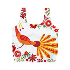 Peacock Pattern Full Print Recycle Bag (m)