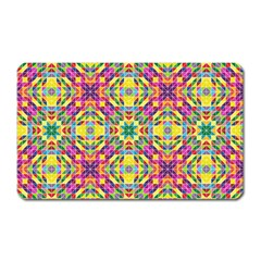 Triangle Mosaic Pattern Repeating Magnet (rectangular)