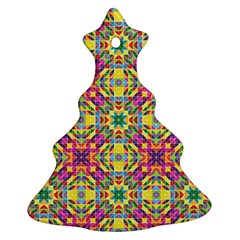 Triangle Mosaic Pattern Repeating Ornament (christmas Tree)