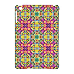 Triangle Mosaic Pattern Repeating Apple Ipad Mini Hardshell Case (compatible With Smart Cover)