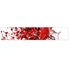 Red Pomegranate Fried Fruit Juice Large Flano Scarf