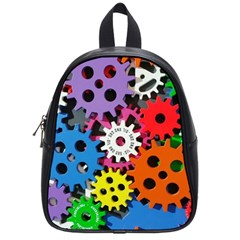 The Gears Are Turning School Bag (small) by WensdaiAddamns