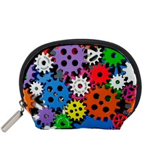 The Gears Are Turning Accessory Pouch (small) by WensdaiAddamns