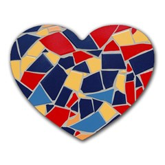 Pattern Tile Wall Background Heart Mousepads