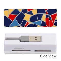 Pattern Tile Wall Background Memory Card Reader (stick)