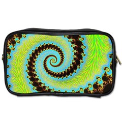 Fractal Julia Mandelbrot Art Toiletries Bag (two Sides)