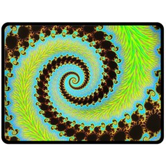 Fractal Julia Mandelbrot Art Fleece Blanket (large)