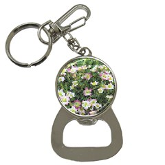 Mosaic Structure Pattern Background Bottle Opener Key Chains