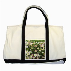 Mosaic Structure Pattern Background Two Tone Tote Bag
