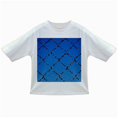Pattern Structure Background Blue Infant/toddler T Shirts
