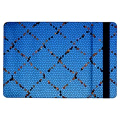 Pattern Structure Background Blue Ipad Air Flip