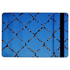 Pattern Structure Background Blue Ipad Air 2 Flip