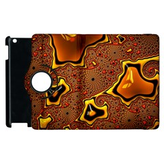 Fractal Julia Mandelbrot Art Apple Ipad 3/4 Flip 360 Case by Pakrebo