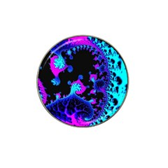 Fractal Pattern Spiral Abstract Hat Clip Ball Marker (10 Pack)