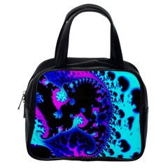 Fractal Pattern Spiral Abstract Classic Handbag (one Side)