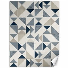 Geometric Triangle Modern Mosaic Canvas 36  X 48