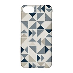 Geometric Triangle Modern Mosaic Apple Iphone 8 Hardshell Case