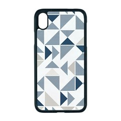 Geometric Triangle Modern Mosaic Apple Iphone Xr Seamless Case (black)