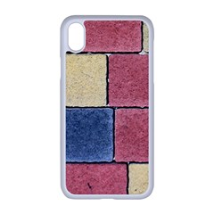 Model Mosaic Wallpaper Texture Apple Iphone Xr Seamless Case (white)