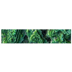 Green Pattern Background Abstract Small Flano Scarf