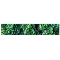 Green Pattern Background Abstract Large Flano Scarf
