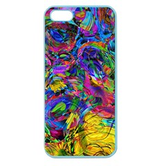 Pattern Structure Background Apple Seamless Iphone 5 Case (color)